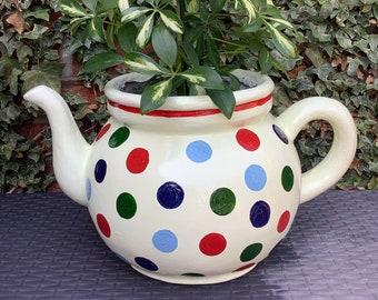 Classic design indoor and outdoor teapot planter