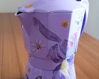 Purple Floral Moka