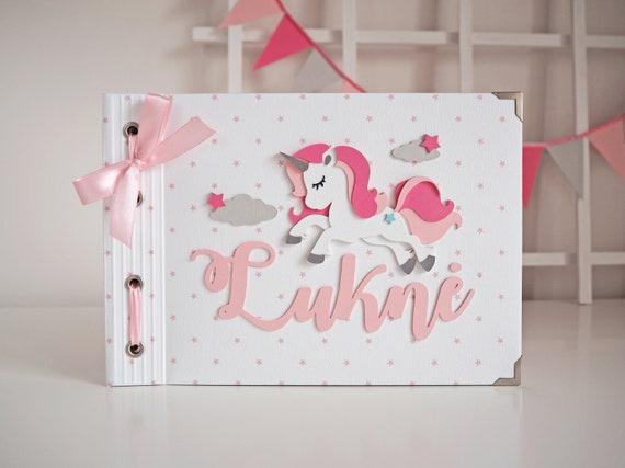Handgemachte Personalisierte Wunschbuch Fotoalbum Taufe Taufe Babyshower Geburtstagsgeschenk