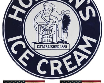 Ice Cream Nostalgic Reproduction Country Metal Sign 18x30 RVG179