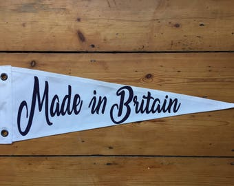 Made in Britain Pennant Flag