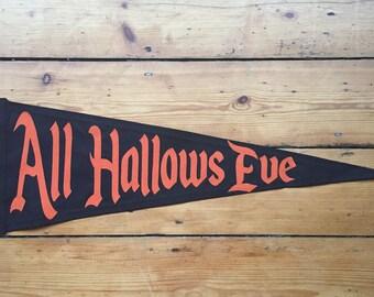 All Hallows Eve Pennant Flag