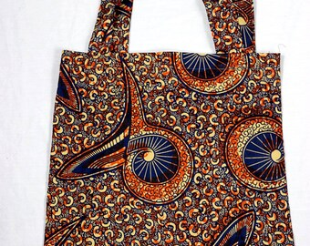 African Market Tote, Africa fabric bag, African print tote, Ankara tote bag, Shopping Bag, Handmade Bag, Purse, Tote Bags, Beach Bag, Book