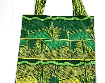Tote Bag, Shopping Bag, African Tote Bag, Ankara Print, African Wax, African Print, Beach Bag, Travel Bag, Gym Bag, Book Bag, School Bag
