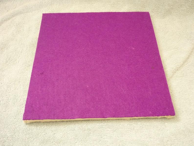 Purple Non-Slip 3 Layer Typewriter Mat Pad British Wool Felt
