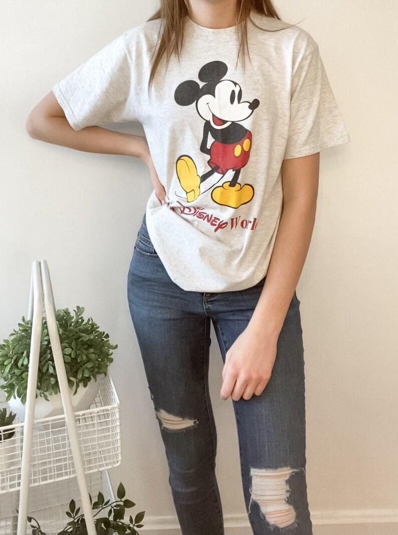 Vintage Disney World Mickey Mouse T-Shirt