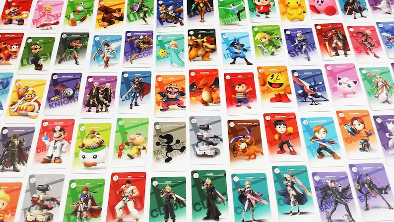 080a162a USA Seller Beautiful All 73 Super Smash Bros. Ultimate | Etsy