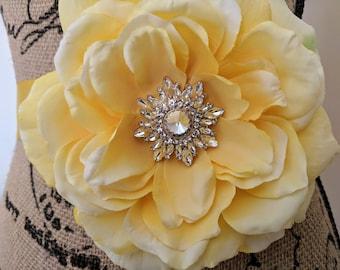 Yellow Flower Sash