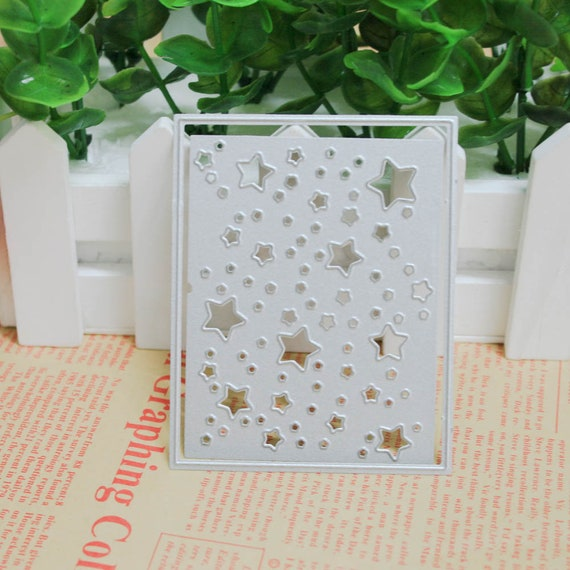 Little Star Cutting Dies Cardmaking Dies Diy Scrapbooking Etsy