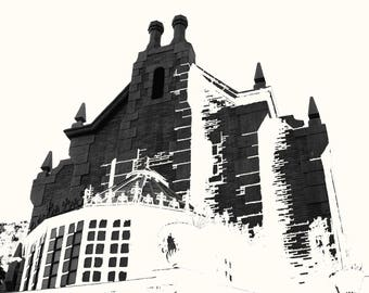 The Haunted in ultra high contrast
