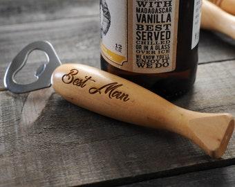 Personalized Bottle Opener Engraved Beer Opener Wooden Bottle Opener Custom Opener Bottle Opener Wedding Favor Gift for Groomsmen Usher