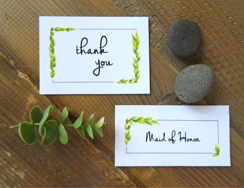 Programs Name cards Thank You/'s Wedding Extension Set and Table Number/'s