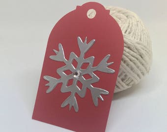 Christmas gift tags 8 pieces
