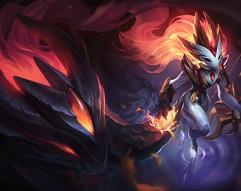 Shadowfire Kindred cosplay League of Legengs