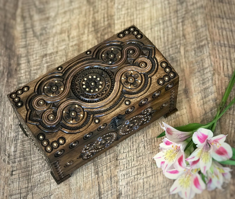 Image result for A Wooden Jewelry Box bw photography