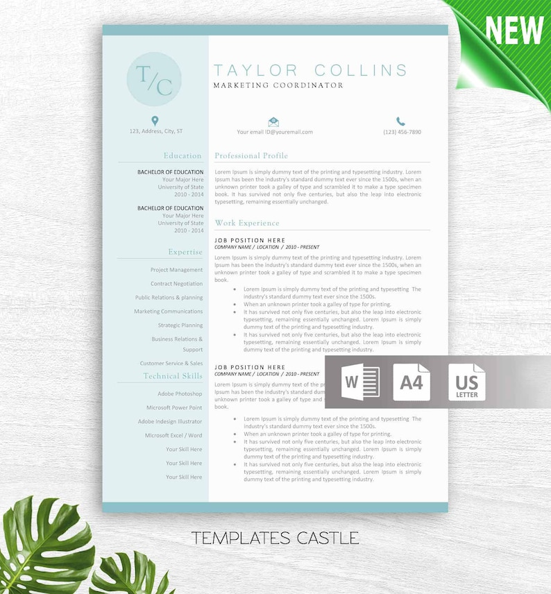 Educator Resume Template For Word Principal Teacher