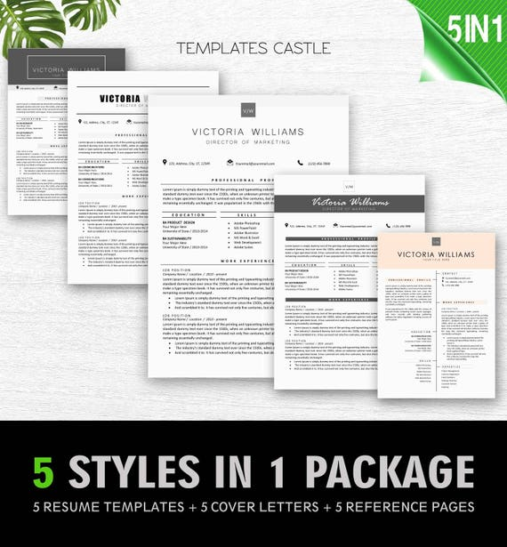 Resume Template Professional CV Modern Creative Templates