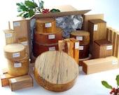 Superior Woodturner 39 s Gift Box - 29 Bowl Spindle Wood Blanks