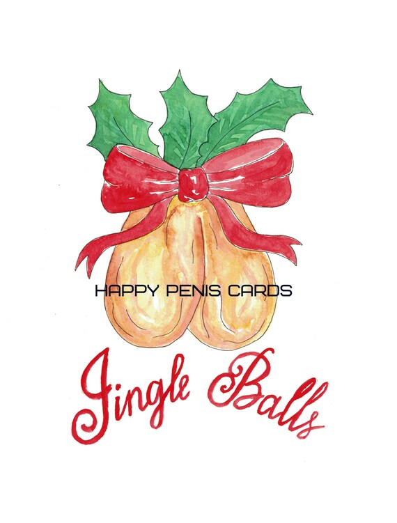 Cock And Balls Clip Art Image