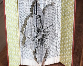 Narcissus Flower-479 Pages-Cut&Fold Book Folding Pattern-Flower pattern-CutFoldMeasureMark Pattern