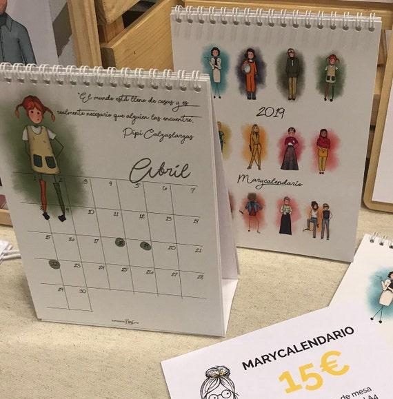 Calendar MaryF 2019