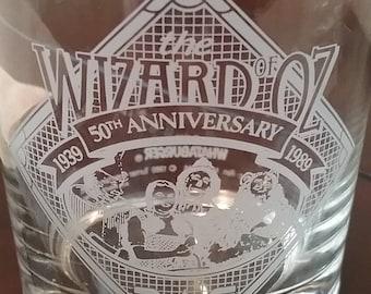 Wizard of Oz 50th Anniversary 1996 Whataburger Glass