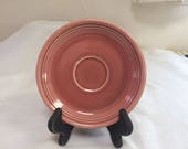 Vintage Rose Fiestaware from Homer Laughlin Saucer