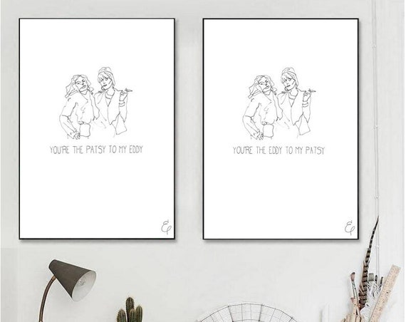Absolutely Fabulous Double Print
