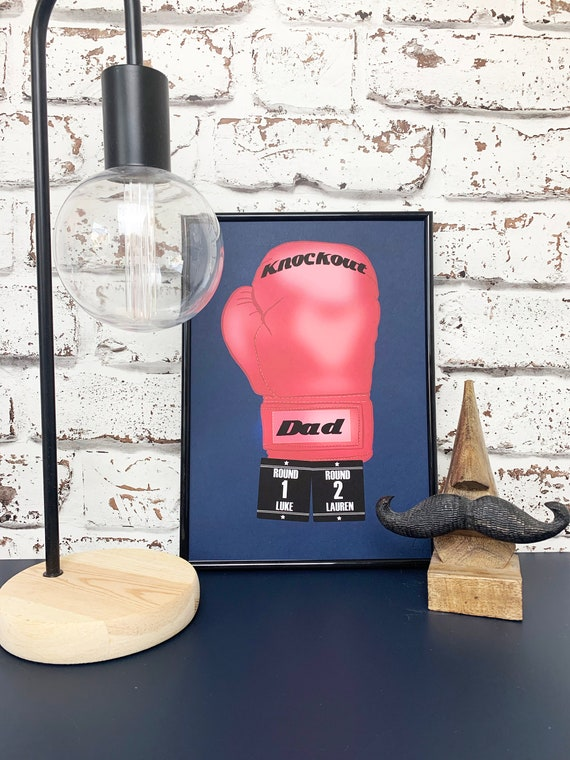 Knockout Dad - Father's Day Print