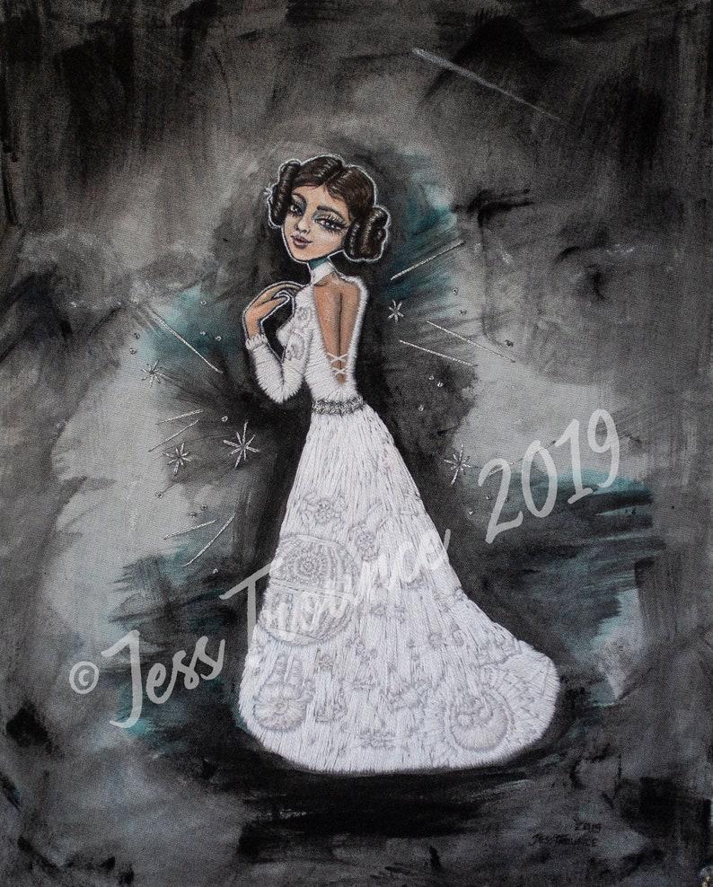 Princess Leia/'s Gown \u2013 Framed Original