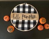 "10"" Hello Pumpkin"