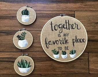 """Together 10"""" Hoop"""