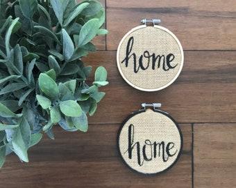 """Home & Hello 4"""" Hoop"""