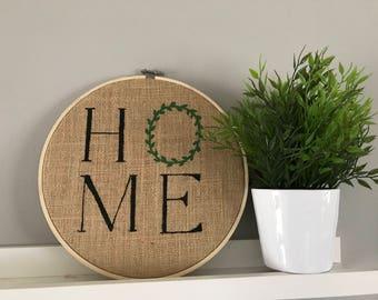 """Home 10"""" Hoop"""
