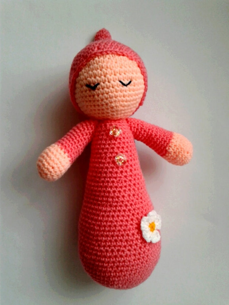 Soft Toy For Young Children Crochet Doll Sonia Handmade Gift Etsy
