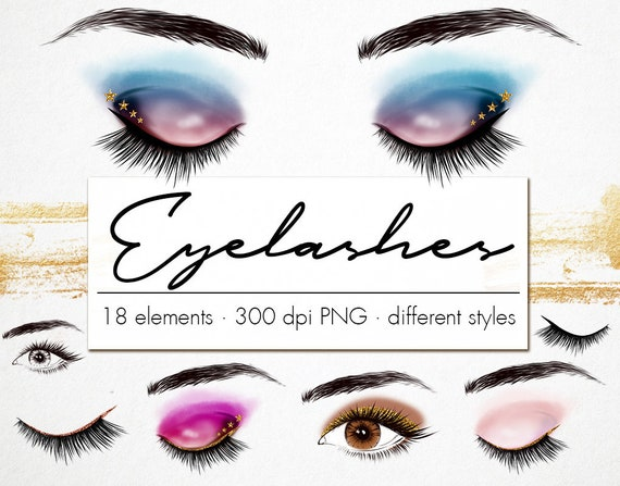Eyelashes clipart Eyelashes clip art Eyeshadow Logo Makeup ...