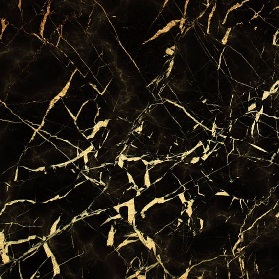 Black Gold Marble Papier Cyfrowy Czarny Papier Marmur Etsy