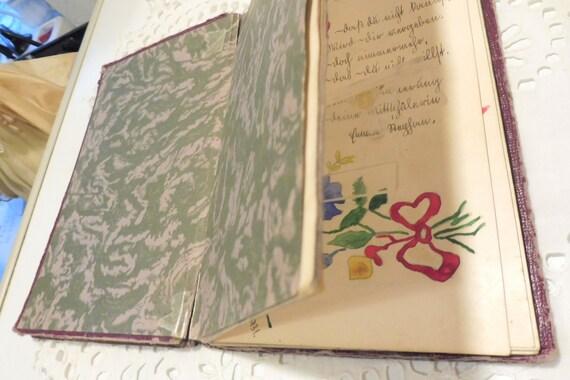 Altes Poesiealbum Rabl Anna Wien 1931 35