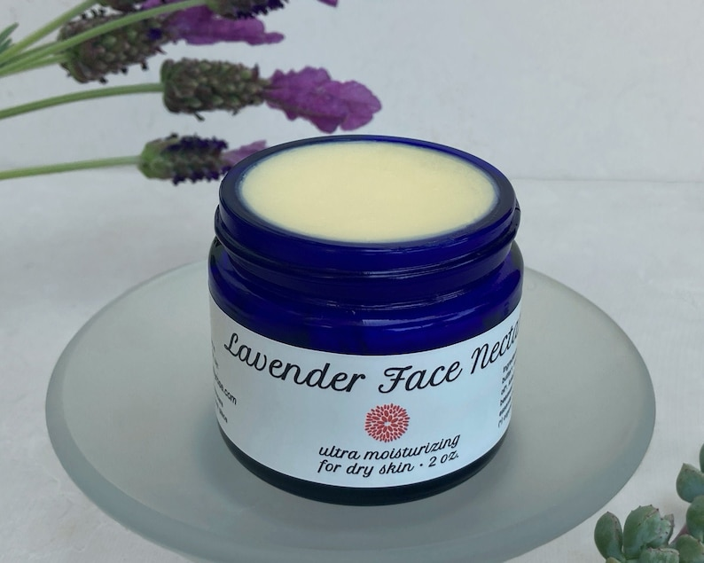 Lavender Face Nectar  nourishing moisturizer with shea butter image 0
