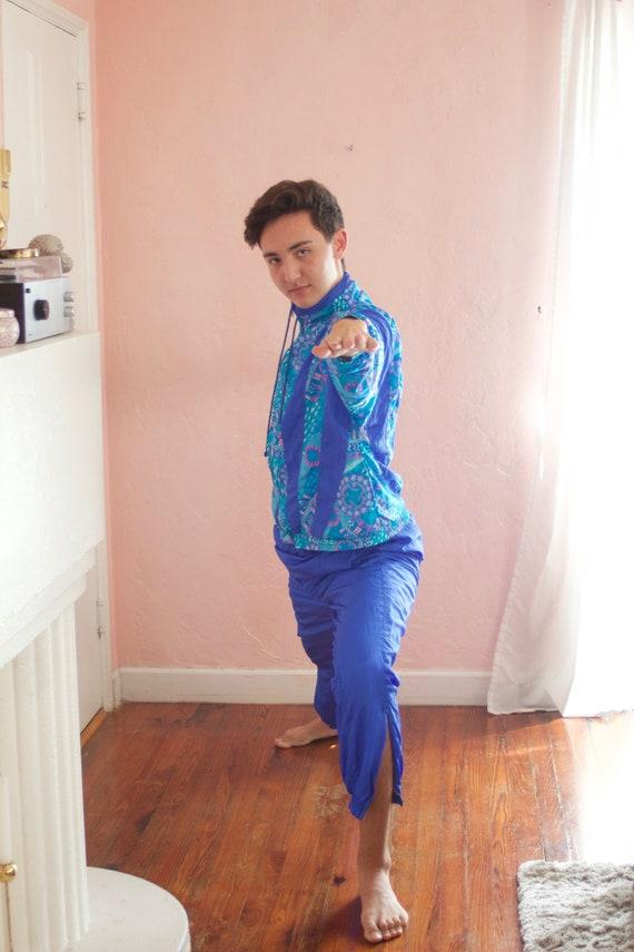 Cerulean Blue Track Suit