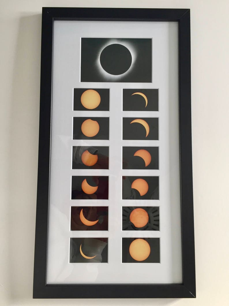 Total Solar Eclipse Collage of The Great American Eclipse of image 0