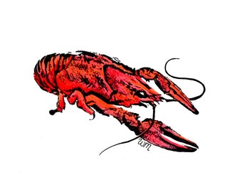 Crawfish Print