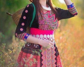 Hmong clothes fashion sale kue 76