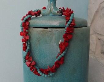Coral Treasures necklace