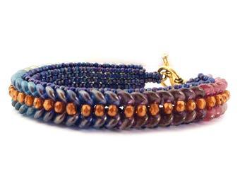 Lentille Bracelet Tutorial