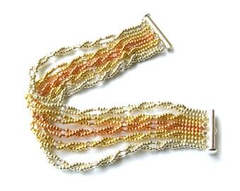 Gemini Strands Bracelet Tutorial