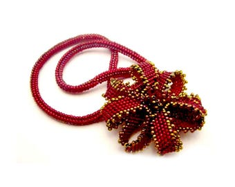 Pinwheel Pendant Necklace Tutorial