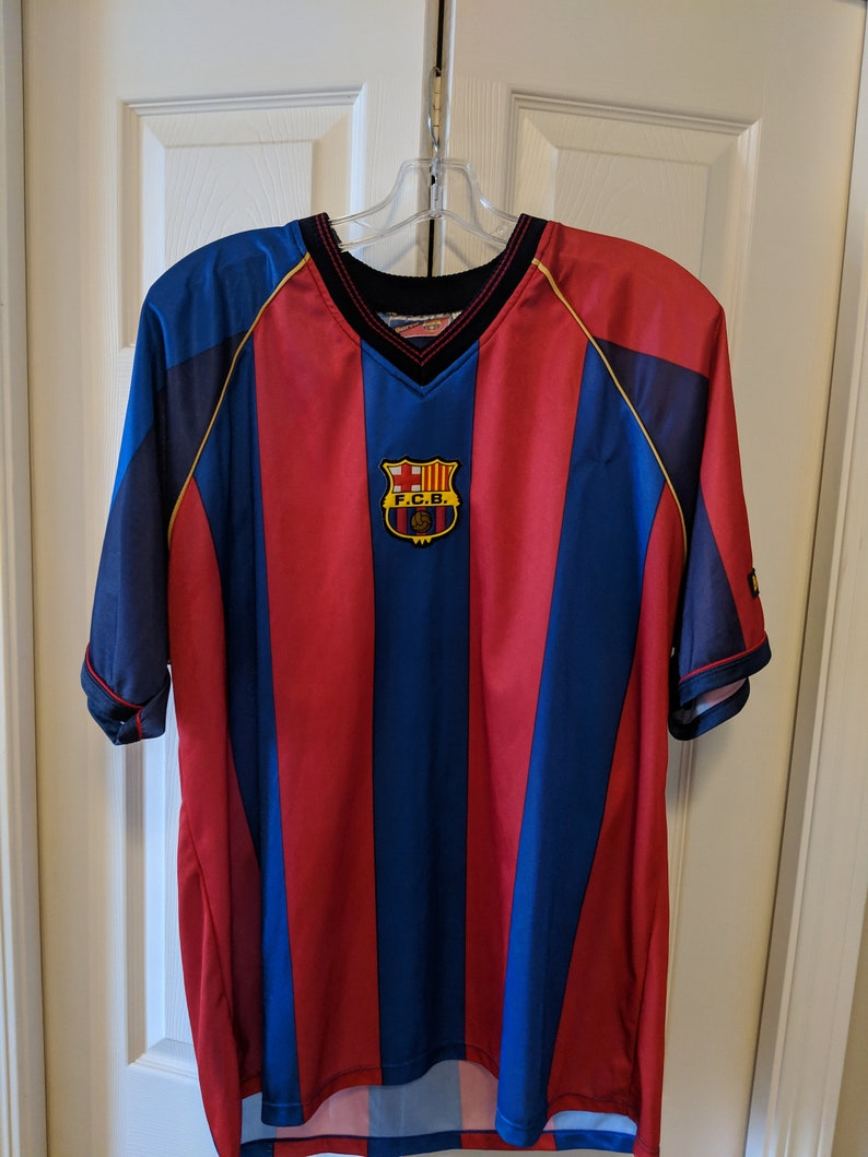 info for 5d203 be2a8 Vintage official Rivaldo Barcelona jersey