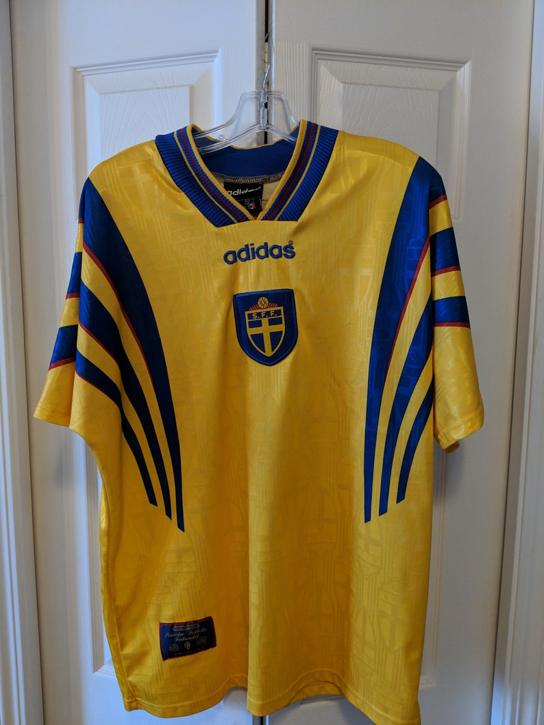 outlet store a092e 58fc2 90s Sweden Soccer jersey