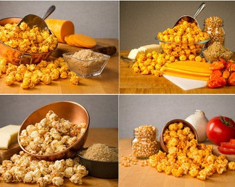 Best of Both Worlds - Gourmet Popcorn  Combo 4-Pack